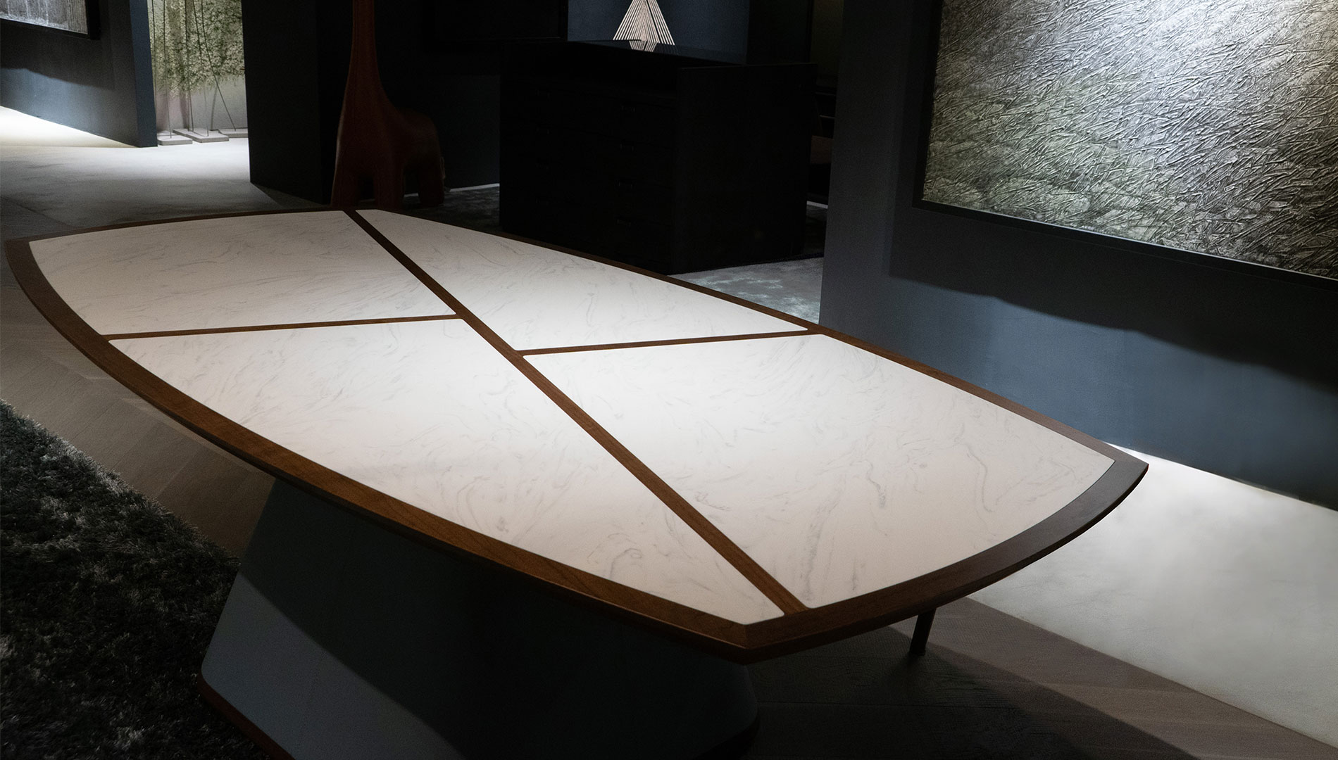 meganite marble look coffee table